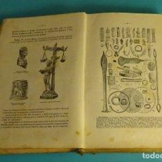 Libros antiguos: NOCIONES DE HISTORIA DE ESPAÑA POR S.C. FRENÁNDEZ SANTOS. 2524 GRABADOS Y 21 MAPAS. S. CALLEJA. Lote 170121004