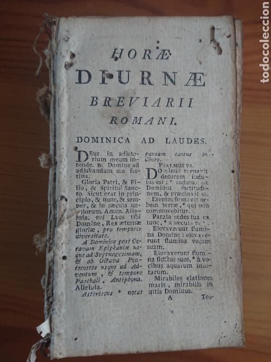 Libros antiguos: Breviarii Romani, Horae Diurnae, 1796 - Foto 2 - 170187661
