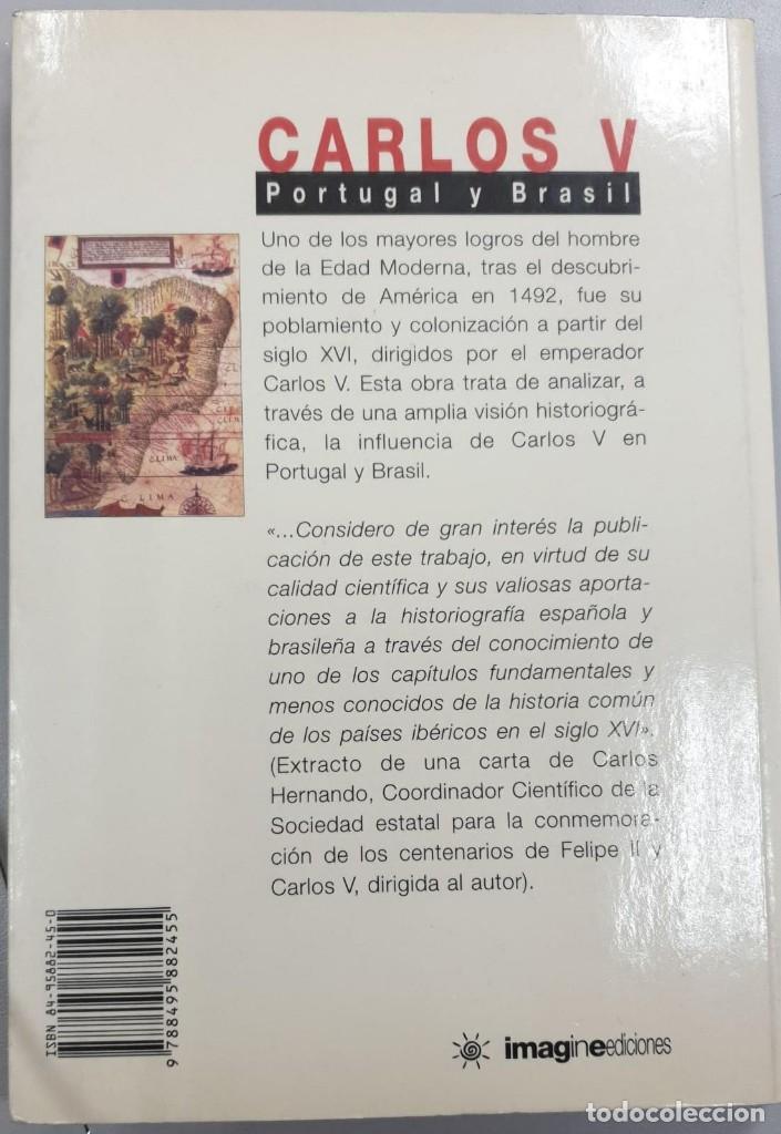 Libros antiguos: Carlos V - Portugal y Brasil - Foto 2 - 170200632