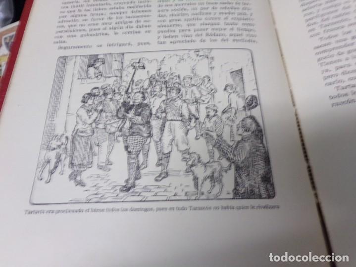Libros antiguos: A.Daudet: LAS AVENTURAS de TARTARÍN DE TARASCÓN, Ed.DALMAU CARLES 1930, J.Carrera ilustrador - Foto 3 - 170218784
