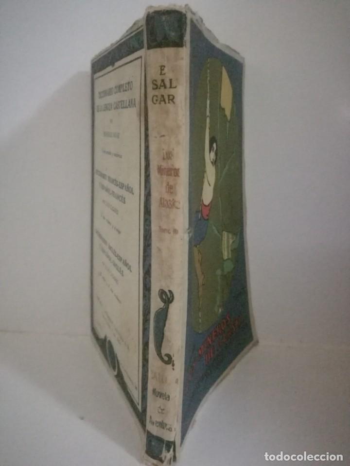 Libros antiguos: EMILIO SALGARI: LOS MINEROS DE ALASKA - TOMO 3 . **SATURNINO CALLEJA** - Foto 3 - 170241752