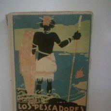 Libros antiguos: EMILIO SALGARI: LOS PESCADORES DE TRÉPANG - TOMO 1. **SATURNINO CALLEJA**. Lote 170246188