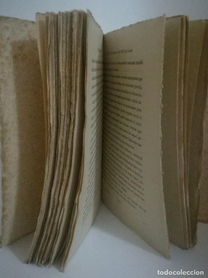 Libros antiguos: EMILIO SALGARI: LOS HORRORES E FILIPINAS - TOMO 2. **SATURNINO CALLEJA** - Foto 4 - 170246360