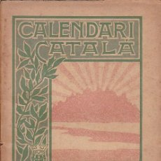 Libros antiguos: CALENDARI CATALA PER A L'ANY 1901 EDITORIAL L'ARXIU . Lote 170288172