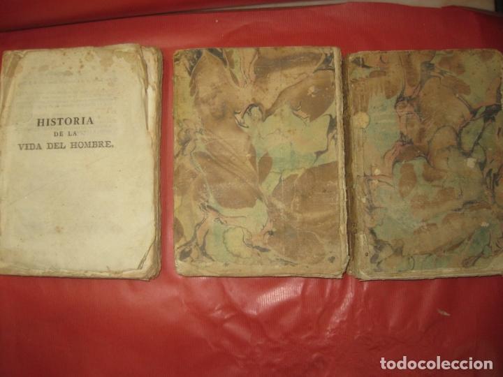 HISTORIA DE LA VIDA DEL HOMBRE. ABATE LORENZO HERVAS. TOMO II 1ª TOMO IV TOMO VII. 1789,1796,1799 (Libros Antiguos, Raros y Curiosos - Historia - Otros)