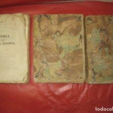 Libros antiguos: HISTORIA DE LA VIDA DEL HOMBRE. ABATE LORENZO HERVAS. TOMO II 1ª TOMO IV TOMO VII. 1789,1796,1799. Lote 170332636