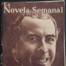 Libros antiguos: LA NOVELA SEMANAL Nº 8 - MEMORIAS DE UN VAGÓN DE FERROCARIL - POR EDUARDO ZAMACOIS - AÑO 1921. Lote 170363968