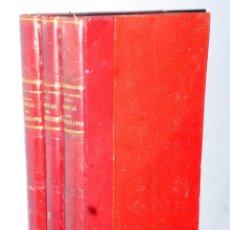 Libros antiguos: MANUAL DEL SOBRESTANTE DE OBRAS PUBLICAS. 3 TOMOS. Lote 170561796