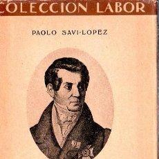 Libros antiguos: COLECCION LABOR. ORIGENES NEOLATINOS. PAOLO SAVI- LOPEZ. 1935.. Lote 170649195