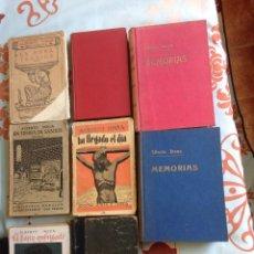 Libros antiguos: ALBERTO INSUA (6 NOVELAS Y MEMORIAS). Lote 170898660