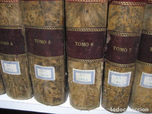 Libros antiguos: 1854-1878 / HISTORIA UNIVERSAL POR CESAR CANTU / 10 TOMOS / IMPRENTA Y LIBRERIA DE GASPAR,EDITORES - Foto 5 - 171057629