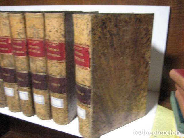 Libros antiguos: 1854-1878 / HISTORIA UNIVERSAL POR CESAR CANTU / 10 TOMOS / IMPRENTA Y LIBRERIA DE GASPAR,EDITORES - Foto 9 - 171057629