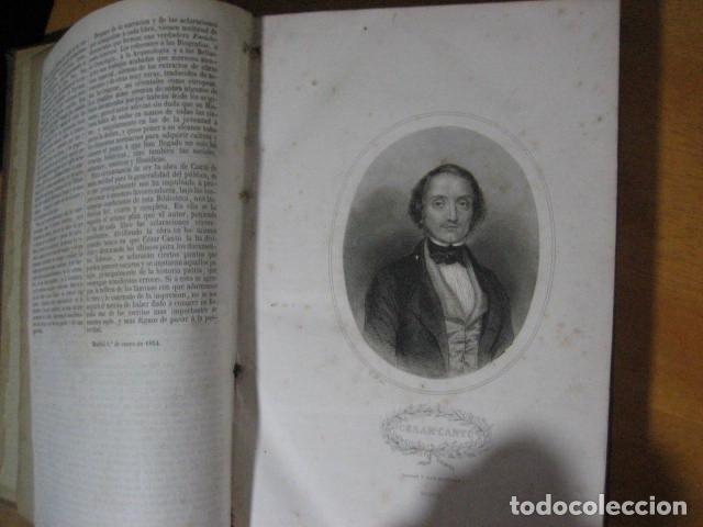 Libros antiguos: 1854-1878 / HISTORIA UNIVERSAL POR CESAR CANTU / 10 TOMOS / IMPRENTA Y LIBRERIA DE GASPAR,EDITORES - Foto 13 - 171057629