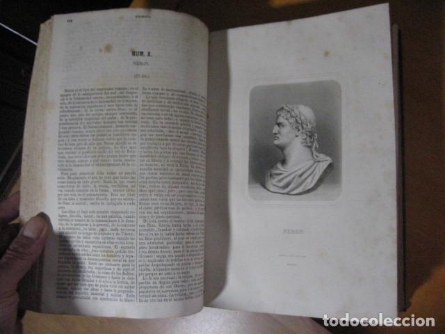 Libros antiguos: 1854-1878 / HISTORIA UNIVERSAL POR CESAR CANTU / 10 TOMOS / IMPRENTA Y LIBRERIA DE GASPAR,EDITORES - Foto 23 - 171057629