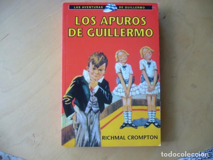LOS APUROS DE GUILLERMO - RICHMAL CROMPTON (Libros Antiguos, Raros y Curiosos - Literatura Infantil y Juvenil - Otros)