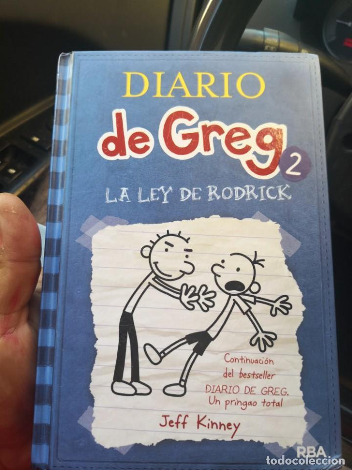 DIARIO DE GREG NUMERO 2 LA LEY DE RODRICK TAPA DURA (Libros Antiguos, Raros y Curiosos - Literatura Infantil y Juvenil - Otros)