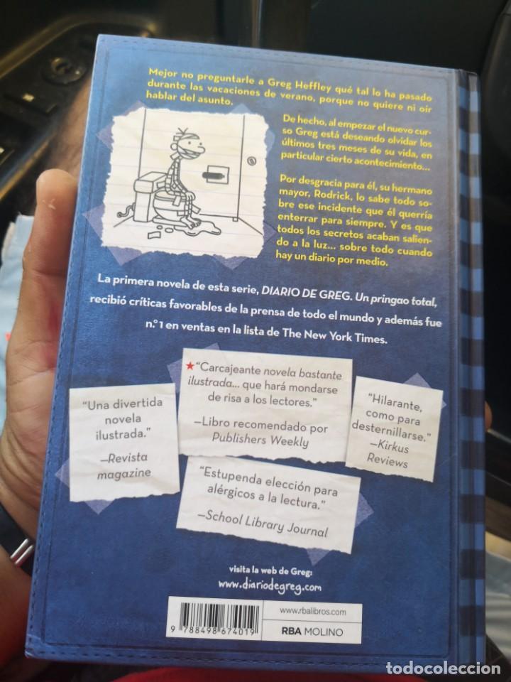 Libros antiguos: DIARIO DE GREG NUMERO 2 LA LEY DE RODRICK TAPA DURA - Foto 2 - 171141982