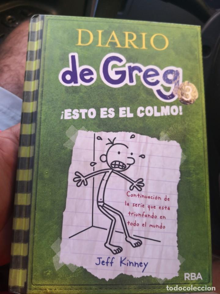 DIARIO DE GREG NUMERO 3 ESTO ES EL COLMO TAPA DURA (Libros Antiguos, Raros y Curiosos - Literatura Infantil y Juvenil - Otros)