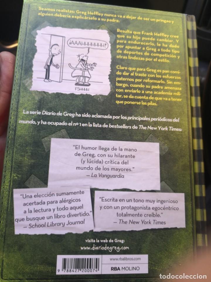 Libros antiguos: DIARIO DE GREG NUMERO 3 ESTO ES EL COLMO TAPA DURA - Foto 2 - 171142083