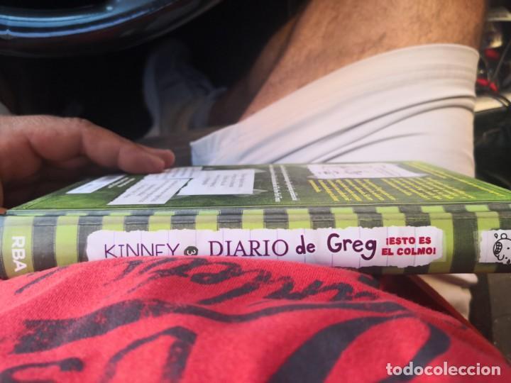 Libros antiguos: DIARIO DE GREG NUMERO 3 ESTO ES EL COLMO TAPA DURA - Foto 3 - 171142083