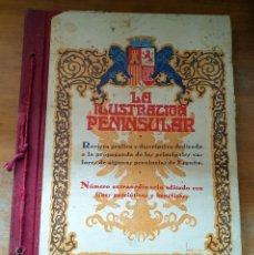 Libros antiguos: LA ILUSTRACION PENINSULAR AÑOS 1933/34 - FOTOGRAFIAS EN B/N - 34X25CM - PUBLICIDAD DE LA ÉPOCA. Lote 171143569