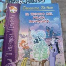 Libros antiguos: GERONIMO STILTON EL TESORO DEL PIRATA FANTASMA TENEBROSA TENEBRAX . Lote 171159515