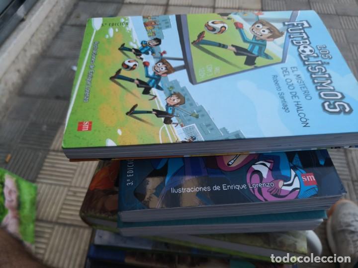 Libros antiguos: LIBROS LOS FUTBOLISIMOS-EL MISTERIO DEL OJO DE Halcón 5ª edición - Foto 3 - 171159709