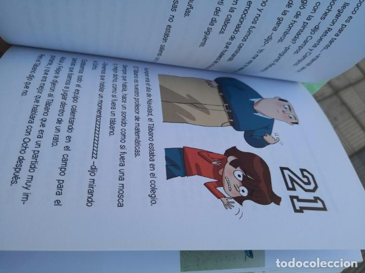 Libros antiguos: LIBROS LOS FUTBOLISIMOS-EL MISTERIO DEL OJO DE Halcón 5ª edición - Foto 7 - 171159709