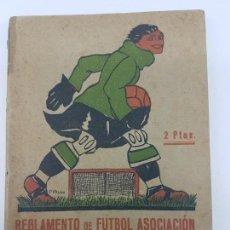 Libros antiguos: REGLAMENTO FUTBOL ASOCIACIÓN ( LLOVERA ) 1926 - 1º EDICIÓN. Lote 171236450
