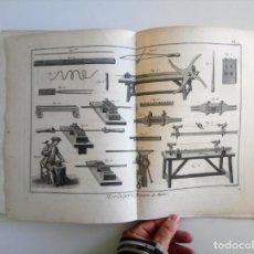 Libros antiguos: 1784 DIDEROT D'ALEMBERT L'ENCYCLOPÉDIE HORLOGERIE RELOJERÍA OROLOGERIA RELOJES SERIE DE 67 LÁMINAS. Lote 171245010