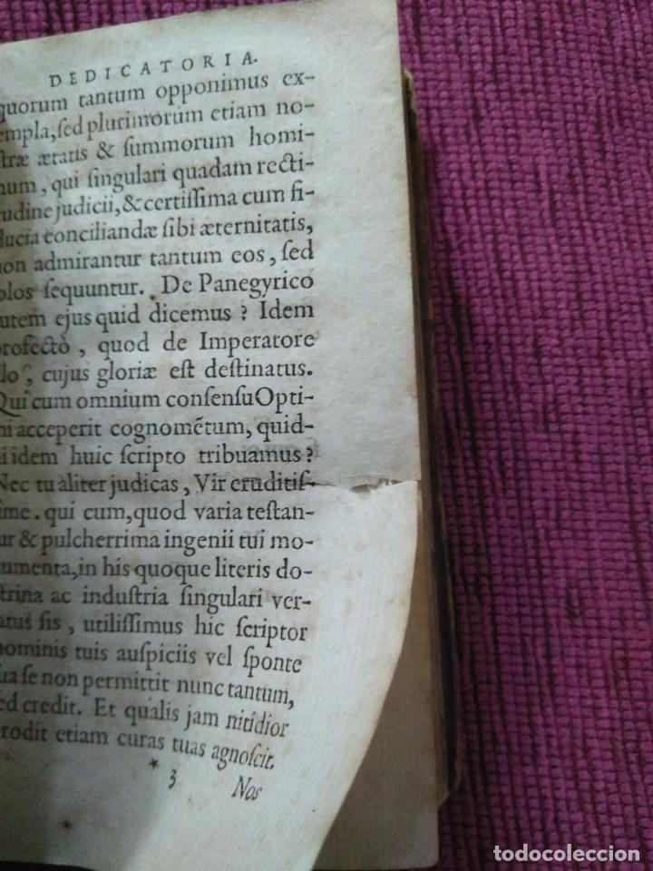 Libros antiguos: 1640. Epístolas. Plinio el joven. Imprenta Elzeviriana. - Foto 4 - 171276128