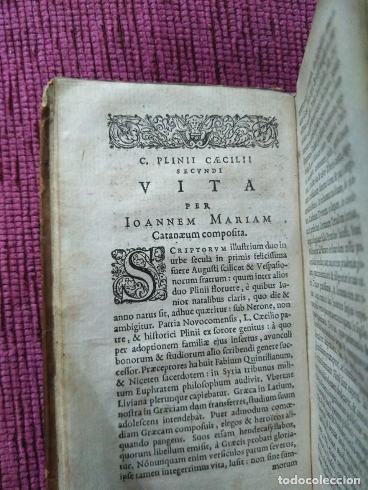 Libros antiguos: 1640. Epístolas. Plinio el joven. Imprenta Elzeviriana. - Foto 6 - 171276128
