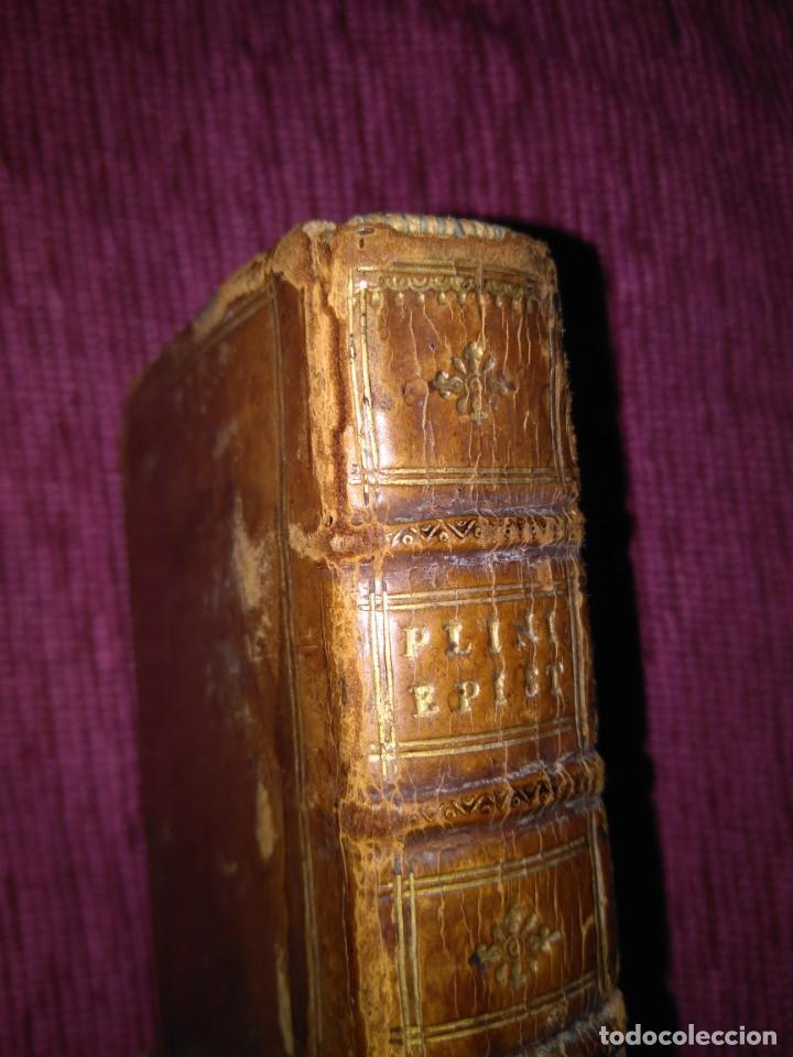 Libros antiguos: 1640. Epístolas. Plinio el joven. Imprenta Elzeviriana. - Foto 13 - 171276128