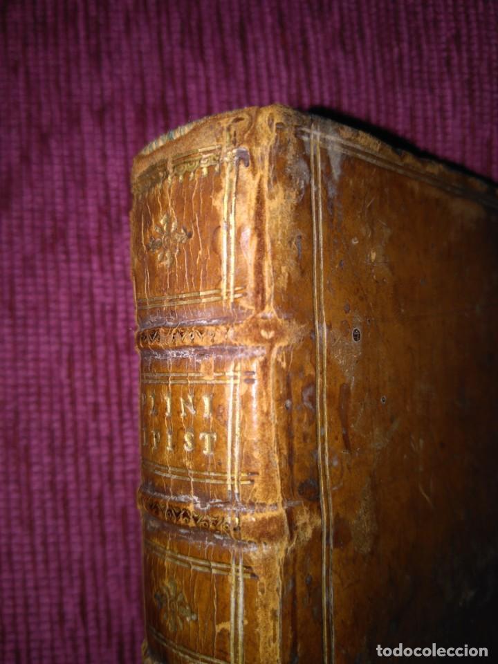 Libros antiguos: 1640. Epístolas. Plinio el joven. Imprenta Elzeviriana. - Foto 14 - 171276128