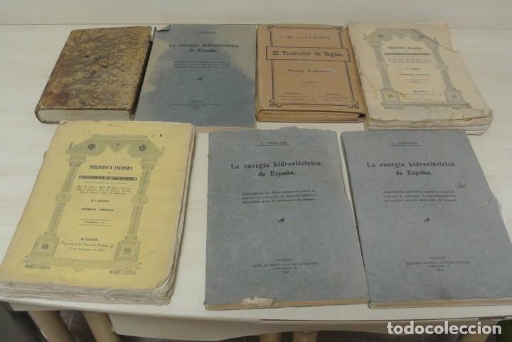 VARIOS LIBROS ANTIGUOS (Libros Antiguos, Raros y Curiosos - Ciencias, Manuales y Oficios - Otros)
