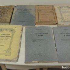 Libros antiguos: VARIOS LIBROS ANTIGUOS . Lote 171364814