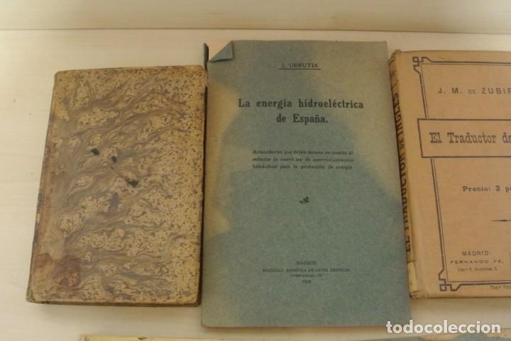 Libros antiguos: VARIOS LIBROS ANTIGUOS - Foto 4 - 171364814