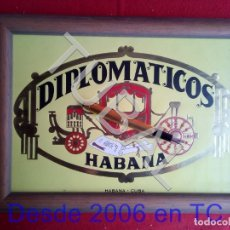 Libri antichi: TUBAL TABACOS HABANOS LAMINA PUROS HABANOS DIPLOMATICOS LA HABANA CUBA B01. Lote 171367403