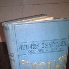 Libros antiguos: 17-EL PUÑAL DEL GODO, JOSE ZORRILLA, CA.1910, EDITORIAL MAUCCI, . Lote 171368944