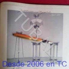 Libros antiguos: TUBAL ANTIGUO CATALOGO DE LAMPARAS QUINQUÉS ALEMAN 85 LAMINAS +35 CM. Lote 171370100