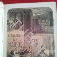 Libros antiguos: TUBAL 1861 LIBRO ANTIGUO EL TRAPERO DE MADRID ANTONIO ALTADILL. Lote 171371172