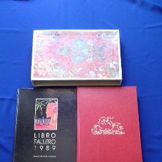 Libros antiguos: LIBRO FALLERO 1989 + LIBRO 50 ANIVERSARIO JUNTA CENTRAL FALLERA. Lote 171371345