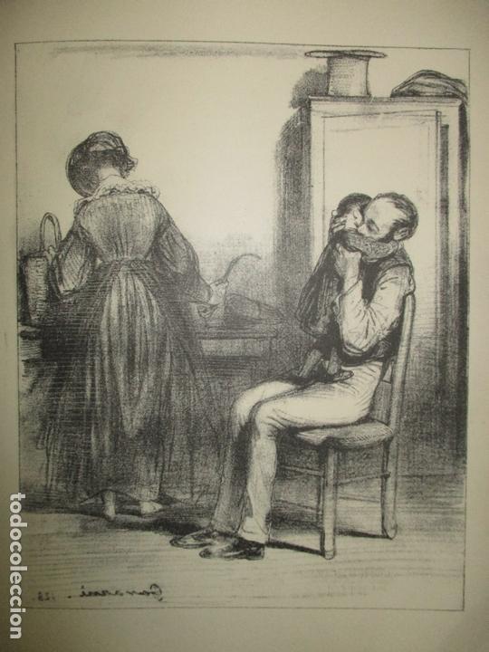 Libros antiguos: GAVARNI LHOMME ET LOEUVRE. GONCOURT, Edmond et Jules de. 1925. - Foto 3 - 171412162