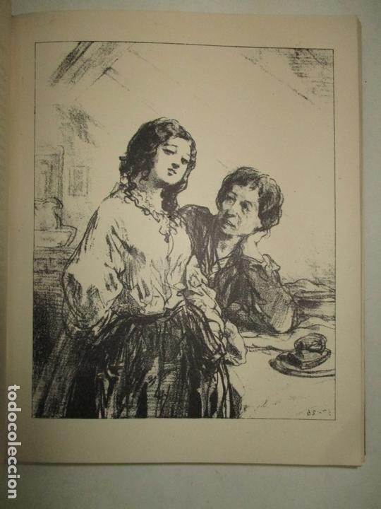 Libros antiguos: GAVARNI LHOMME ET LOEUVRE. GONCOURT, Edmond et Jules de. 1925. - Foto 5 - 171412162