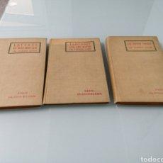 Libros antiguos: ALPHONSE DAUDET. TARTARIN SUR LES ALPES. LETTRES DE MON MOULIN. LE PETIT CHOSE. CONTES DE LUNDI.. Lote 171428142