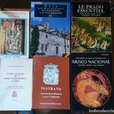Libros antiguos: 6 GUÍAS DE MUSEOS. Lote 171445280