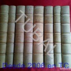 Libros antiguos: TUBAL LA CRUZADA ESPAÑOLA EN PLENO PERGAMINO 8 VOLS COMPLETA 1939. Lote 171458162