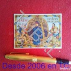 Libros antiguos: TUBAL ANTIGUA FELICITACION NAVIDAD EL SERENO LES DESEA FELICES PASCUAS. Lote 171461145