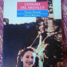 Libros antiguos: L'ENIGMA DEL MEDALLÒ.. Lote 171490349