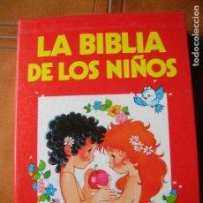 Libros antiguos: LOTE DE LIBROS LA BIBLIA DE LOS NIÑOS ILUSTRACIONES DE MARIA PASCUAL. Lote 234322560